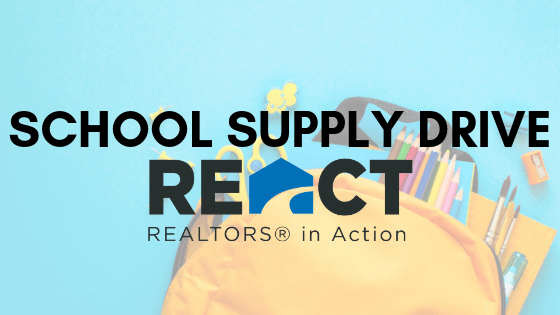REACT: School Supply Drive
