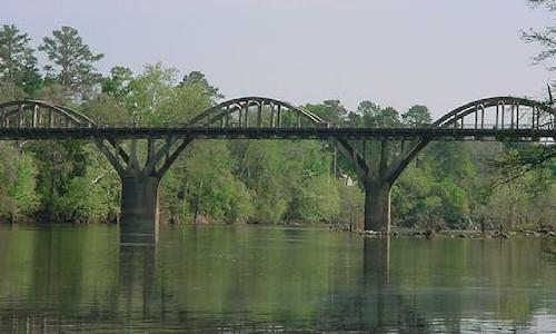 Historic Bibb Graves Bridge in Wetumpka, AL